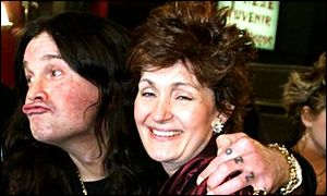 Ozzy with wife Sharon Osbourne