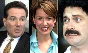 Derek Hatton, Claire Sweeney, Harry Enfield