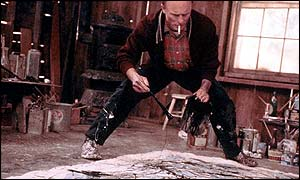 Ed Harris as the tortured artist