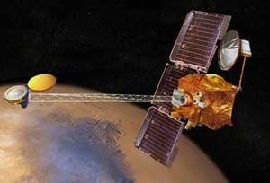 Mars Odyssey spacecraft