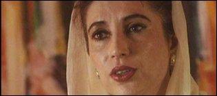 Benazir Bhutto, former Pakistan prime minister