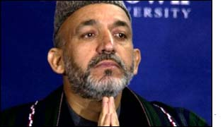 Hamid Karzai - new head of state