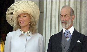The Kents at Buckingham Palace