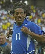 Brazil's Ronaldinho