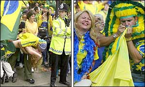 Fans rejoice (left image courtesy of AP)
