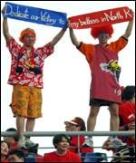 South Korean fans