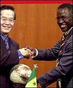 Eugene Chien and Joseph Ndong