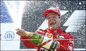 Rubens Barrichello's last win was in the 2000 German Grand Prix