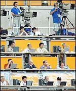 The world's media vastly outnumber players at the World Cup