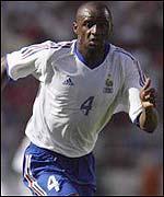Arsenal's Patrick Vieira