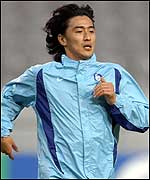 South Korea striker Ahn Jung-Hwan