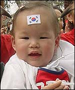 Baby Korea fan