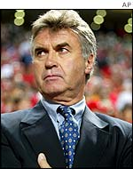 South Korea's Dutch-born coach Guus Hiddink