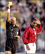 Pierluigi Collina books Paul Ince