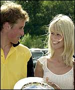 Prince William and Claudia Schiffer