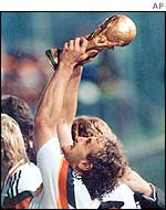 Voeller was part of the 1990 World Cup winning team