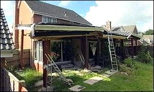 The extension at Checkley Lane, St George's, Telford