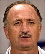 Brazil coach Felipe Scolari