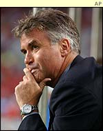 South Korea's coach Guus Hiddink