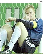 Kahn's error led to Brazil's first goal
