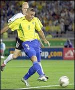 Ronaldo scored twice in the final