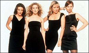 Sex In The City: Charlotte, Carrie, Samantha and Miranda
