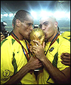 Rivaldo and Ronaldo enjoyed themselves