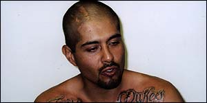 Jose, a gang member, has his tattoos removed