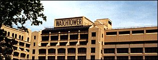 The Watchtower building - US headquarters of the Jehovah's Witnesses