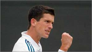 Tim Henman is one of the fittest players on the circuit