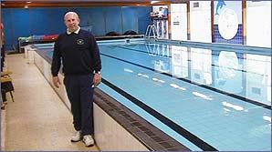 Lifeguard Adrian Roberts