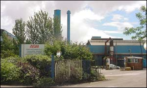 Allied Steel and Wire at Tremorfa, Cardiff
