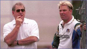 Terry Jenner has been a big influence on Warne