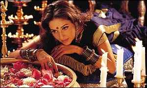 Madhuri Dixit plays the courtesan Chandramukhi