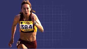Amy Spencer stars in a video diary of her triumphant debut in senior athletics