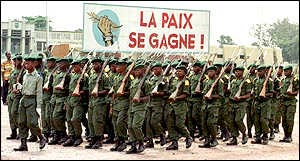 Congolese troops