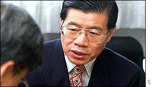 File photo of Wang Bingzhang