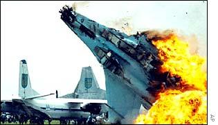 Su-27 crash