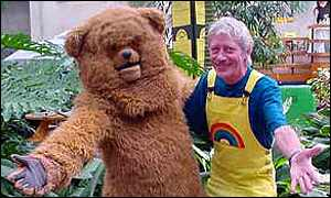 Hayes and Rainbow buddy Bungle