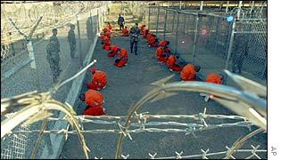 Camp Xray inmates