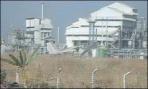 Union Carbide plant at Bhopal