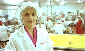 Perween Warsi in her factory