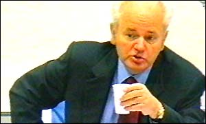 Milosevic cross-examines Jacky Rowland