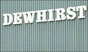 Dewhirst's Swansea factory