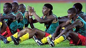 Cameroon's team kit