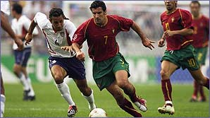Figo and Portugal await the rest of Europe