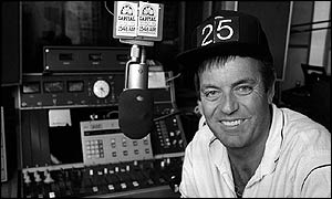Tony Blackburn at the start of his Capital Gold era