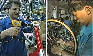 Raleigh worker and employee of Forever Bicycles, Shanghai