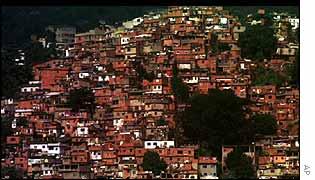 Favela (slum) in Rio