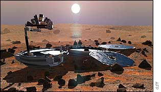 Beagle 2 (AFP)